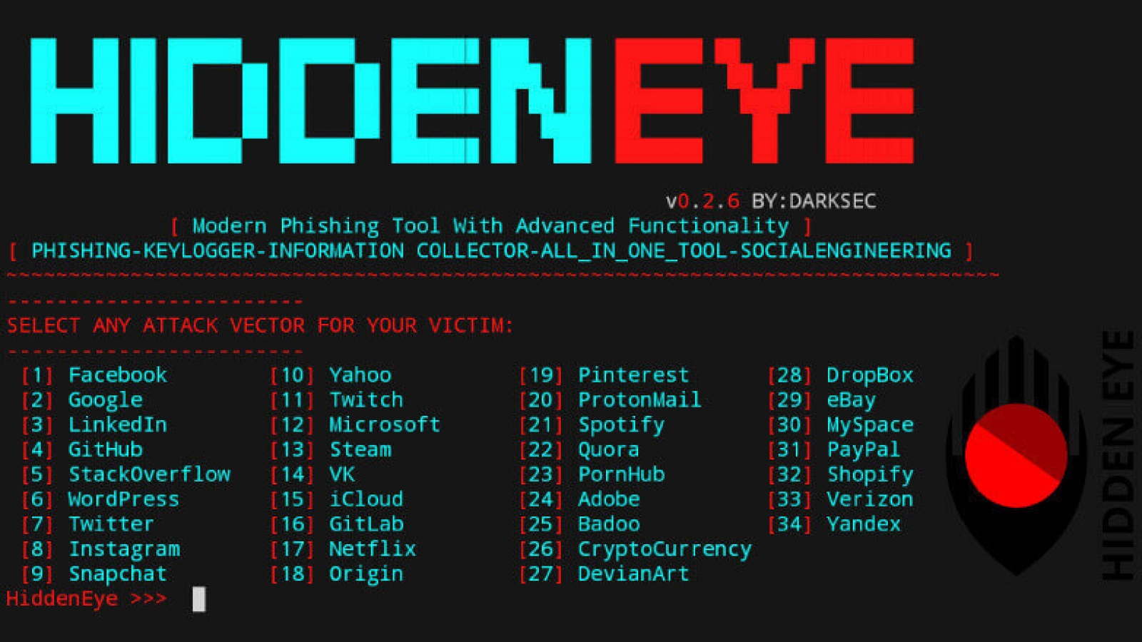 hiddeneye phishing